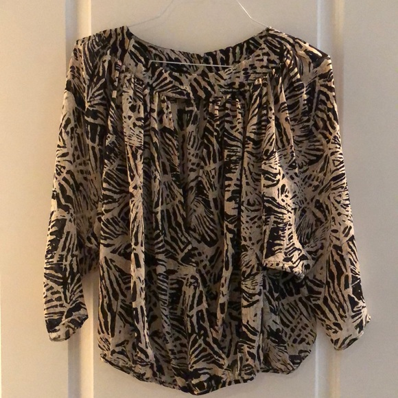 Parker animal print blouse - new without tags
